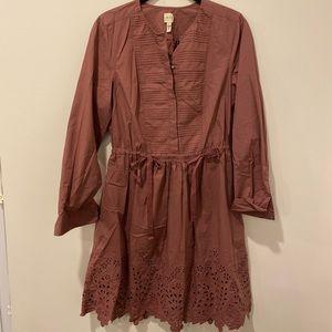 NWOT La Vie Rebecca Taylor cotton dress